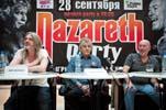"""28 сентября в ТРК """"Ройял Парк"""" состоялась пресс-конференция группы""""Nazareth"""""""